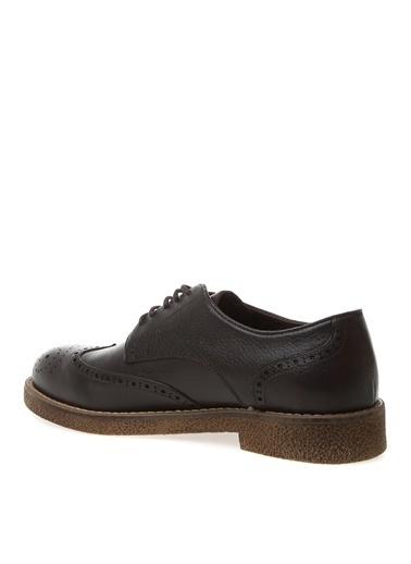 Fabrika Fabrika Deri Klasik Ayakkabı Kahve